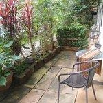 our private terrasse
