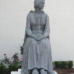 statue of exiled Acadian Evangeline