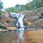 Kantha para waterfalls- 1 km away