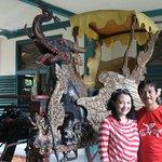 singa barong, kereta unik keraton Cirebon