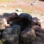 each site has its own fire pit (rare in Calif!)
