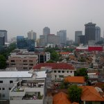 View of Jakarta from the room