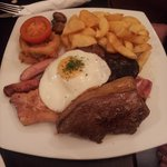 The Colliers Mixed grill, not the Ladies