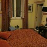 Camera calda e accogliente
