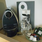 Coffee Machine in room!