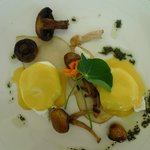 A lovely breakfast creation by the chef