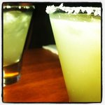 best kaffir lime margaritas!