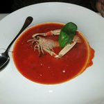 Tomato soup-beautiful and delicious