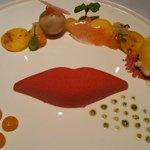 Passion Kiss, Een dessert vol tropische vruchten.