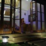 la villa by night