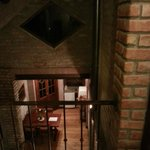Inside the house I stayed, view from the second floor