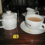 Call me Old Fashion but I do enjoy English Tea after suc a rich meal!
