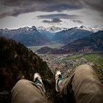 High Above Interlaken