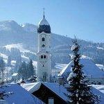 Blick zur Alpspitz Nesselwang