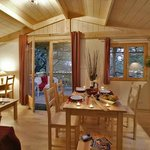 Intérieur location chalet ibardin-camping col d'ibardin a Urrugne