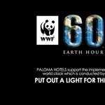 Paloma Hotels Earth hour participation 2012