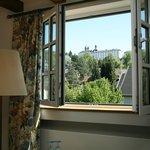 Aussicht aus einem Romantik-Doppelzimmer