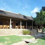 Main dining area at Thabile Lodge