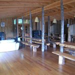 Lodge available to canopy village occupants