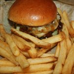 Upper Crust with fries
