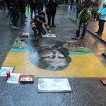 street artist (near hotel)