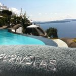 One of the views from the pool (Beach towels provided)