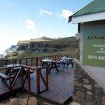 Sani Mountain Lodge deck