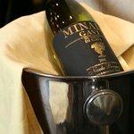 Extensive wine list