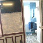 chambre zanzibar vue salle de bain (douche)