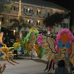 Junkanoo parade New Year's day