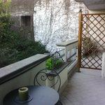 terraza de la habitación