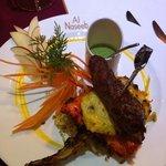 spicy tandoori platter starter!