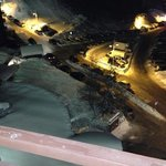 vue du balcon de la chambre (7eme étage côté vallée)