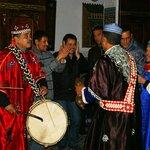 Fête du nouvel an riad avec les Gnawa