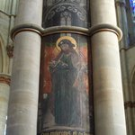 Liebfrauenkirche - column fresco - Trier - May 9 2012