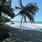 Punta Uva beach at high tide - 2 min away