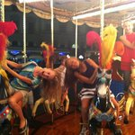 Ride the carousel!