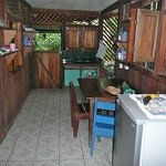 One of the 3 private kitchens available