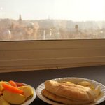 3階ラウンジ 朝食