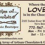 Where the love is in the chocolate!