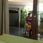 in room massage