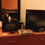 TV/Microwave/Coffee Machine