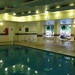 Nice clean indoor pool area