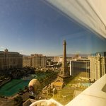 view from strip room