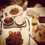 lamb shangrilla and lobster dish