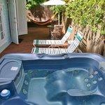Seashell Cottage private spa
