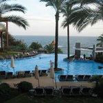 Pool view to sea