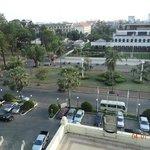Vista dalla camera Ambasciata americana compresa