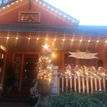 Christmas Lights at Saragossa Inn