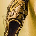 ornamental shoe , alcove